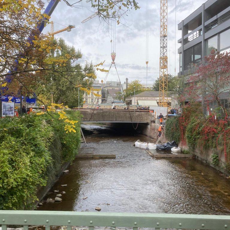 Kranaktion Seufzerbrücke